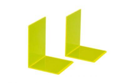Boekensteun  10x10x13cm acryl