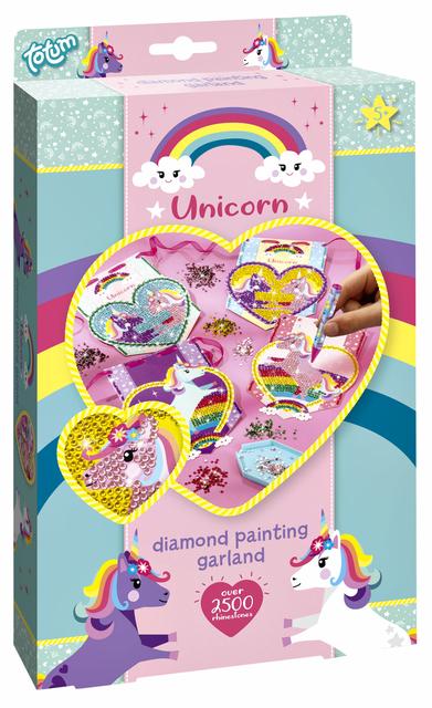 Knutselset Totum unicorn diamond painting